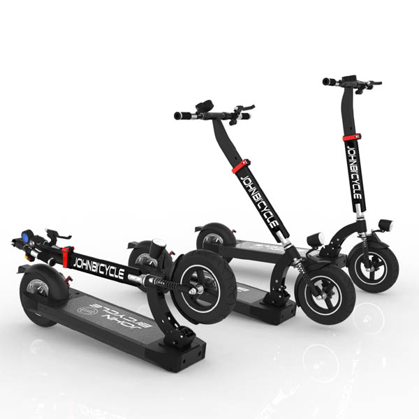 Electric Scooter, JohnBicycle Light, Lithium Ion Battery, folding electric scooters