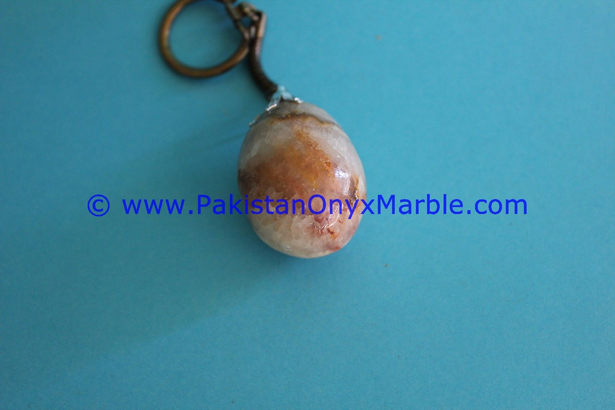 HAND CARVED ONYX KEY CHAINS HANDICRAFTS