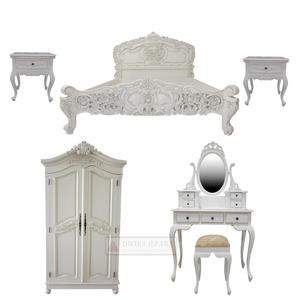 Mahogany Rococo Bedroom set Furniture