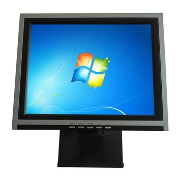 Full high resolution 4/5wire resistive touch monitor touch screen monitor 15 inch