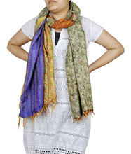 Silk Indian Girls Neck Wrap Designer Scarf Shawl Wholesale Stole Women Wear Gift For Women's