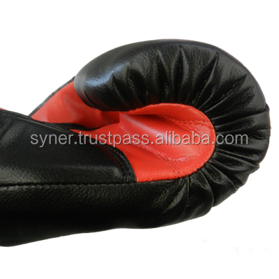 Boxing Glove Black w/Red Palm