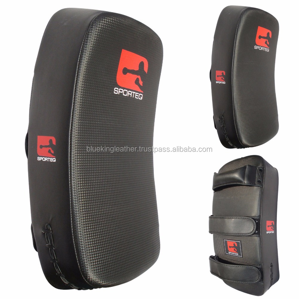 BKL Kick Boxing Strike Curved Arm Pad MMA Focus Muay Thai Punching Shield