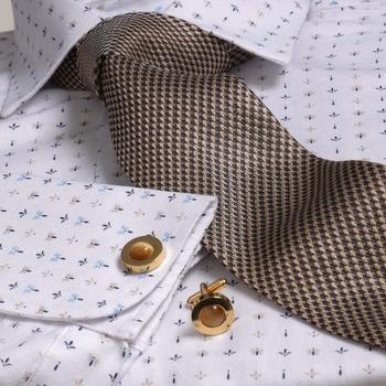 White French Cuff Dress shirt High Quality Shirt