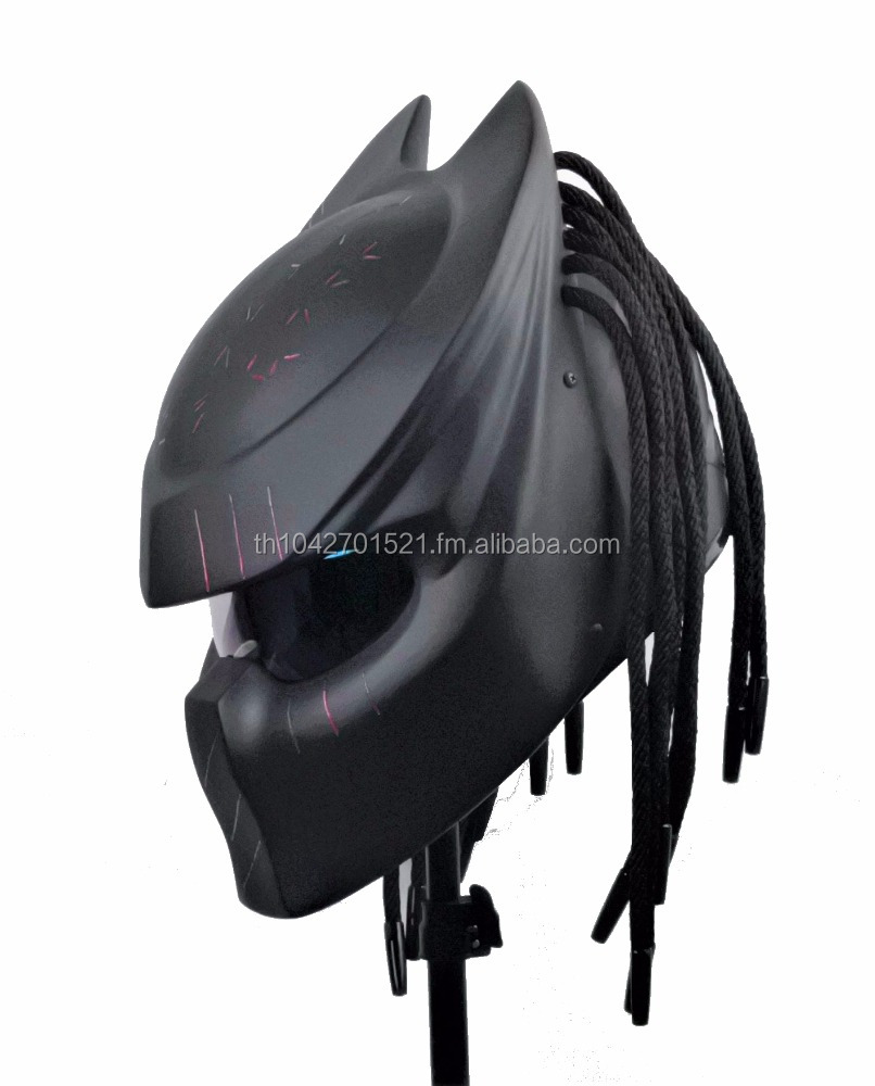Predator Motorcycle Helmet DOT Approved Custom Hand Made Whole Sale