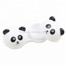 Custom FDA Certified Small Cute 동물 눈 Contact Lens Case