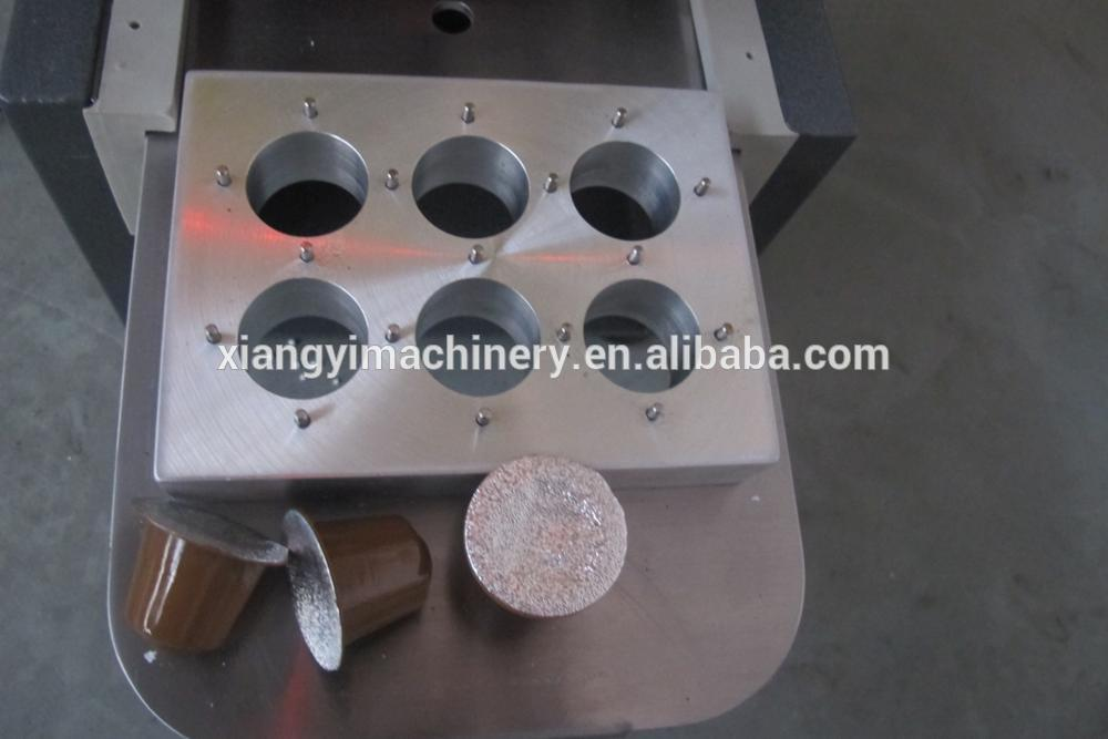 Coffee capsule sealing machine lavazza with high quality.