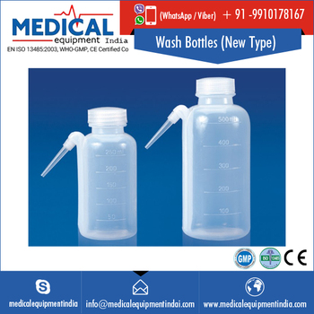 Low Density Polyethylene New Type Wash Bottles
