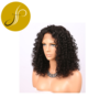 Pearlcoin High Grade Long Length Remy Virgin Human Hair Natural Color Kinky Curly Full Lace Wig 150% Wholesale
