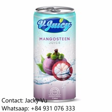 Best Price Private Label Mangosteen Fruit Juice in 250ml Can