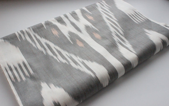 Uz Silk IKAT fabric 11