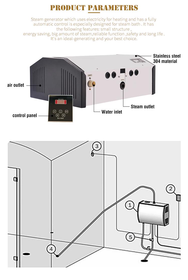 Chine usine approvisionnement direct générateur de vapeur