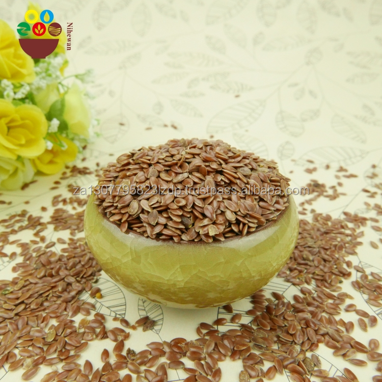 Wholesaller of Natural superior quality bulk organic brown flax seeds prices