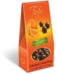 Tafe Chocolate Delight Dragee with Orange 60g - 1246 code