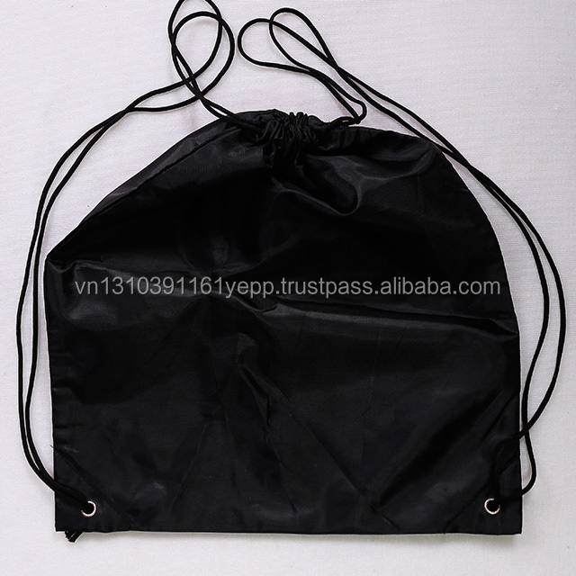 Top quality OEM canvas bag backpack drawstring bag cotton bag in Vietnam