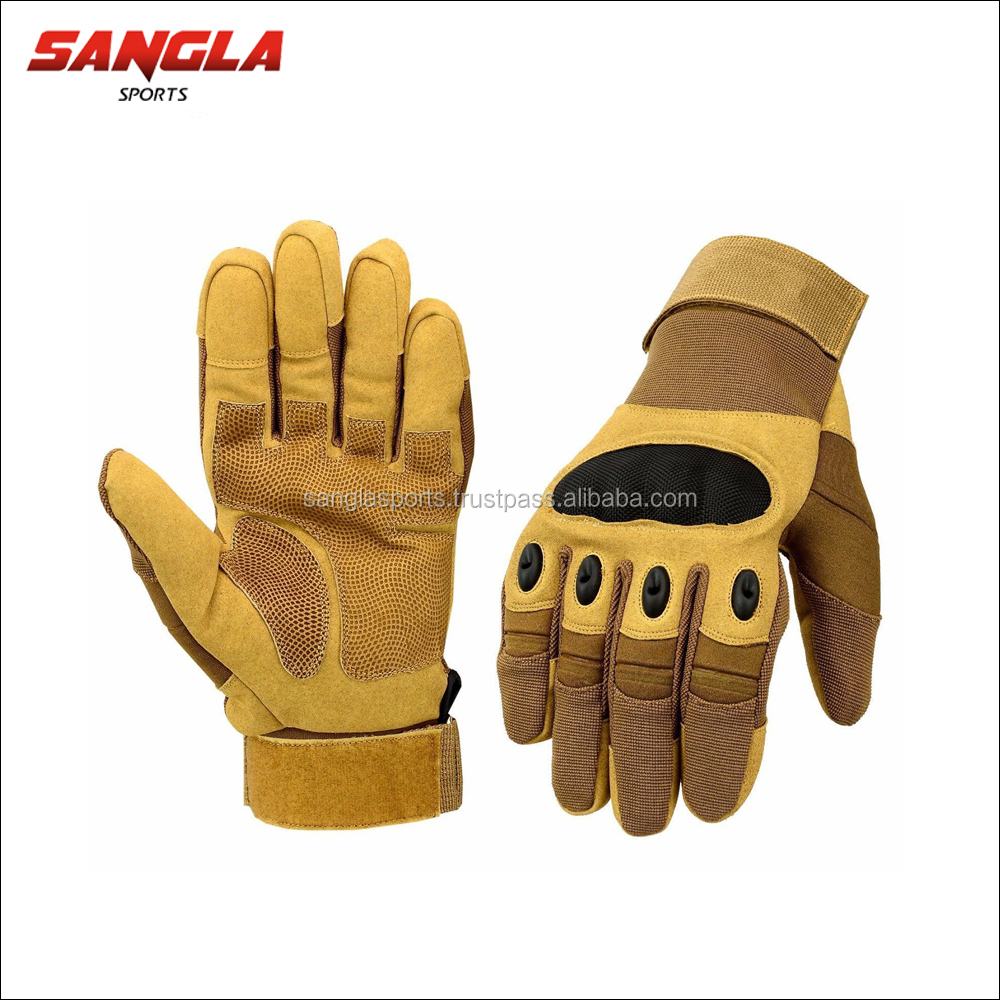 Non-Slip Racing Motorbike Sport Leather Gloves