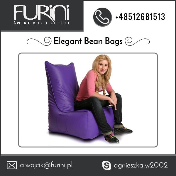 Hot Selling PU Leather Bean Bag Chairs Bulk