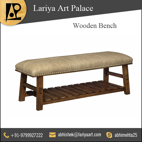 Wholesale Exporter of Best Quality Wooden Benches
