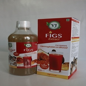 Top quality 500ml Fig Juice manufacturer and whole sale supplier Herbal medicine