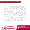 High Quality Leather Craft Tracing Pattern