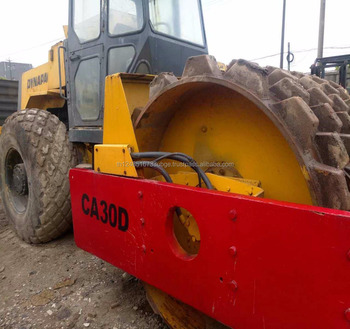 used road roller dynapac CA30D with low price and good working condition in shanghai