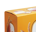 LiPO Cream Egg Cookies box 100g - Qualified biscuit made from Vietnam