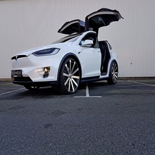 "Tesla X100D 24"" 2017 6 SEATS AUTOPILOT NEW CAR. FREE WORDLWIDE SHIPPING"