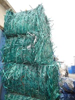 PET / PP STRAPING (STRAP -STRIP) MIX COLORS BALES SCRAP/WASTE