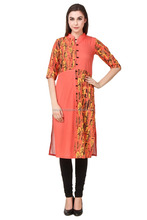beautiful long indian fancy formal kurti tops designs