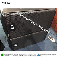 best quality Neodymium two way Line Array Speaker 12 inch GEO S1210