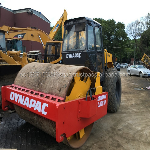 Used CA251D/CA25D/CA30D Soil Compactor /Used dynapac roller ca251d, also ca251d price road roller,used ca251 dynapac road roller