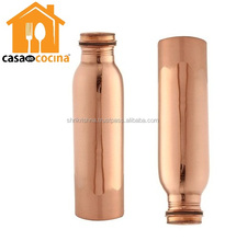 Factory directly sell custom shape water bottle copper india