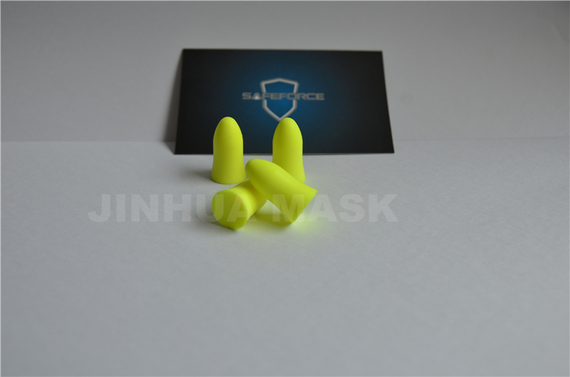 bell shape PU earplug