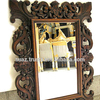 Wooden mirror Frames Heavy solid wood Frames , Custom Wood Carved Mirror Frame , Wooden carving mirror frames