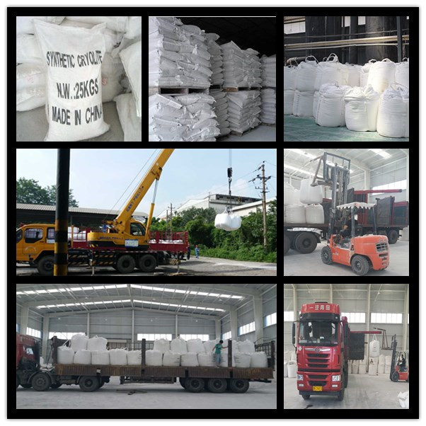 China Manufacturer Supply Cryolite/Sodium Fluoaluminate with High Quality and Factory Price