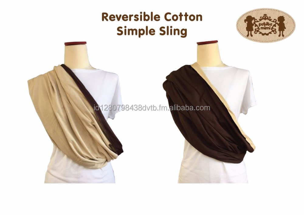 reversible baby sling strechy cotton