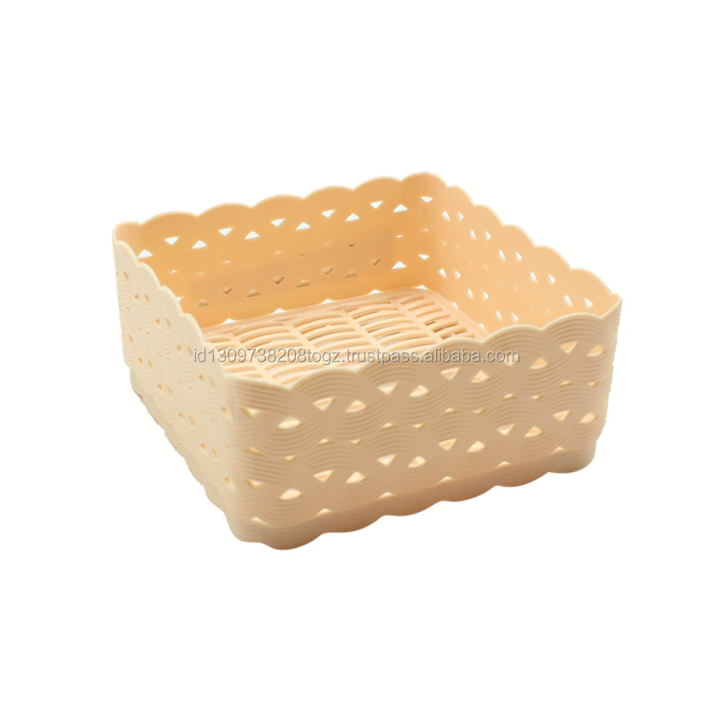 High Quality Cheap Square Style Plastic with Design Small Hole Around the Tray