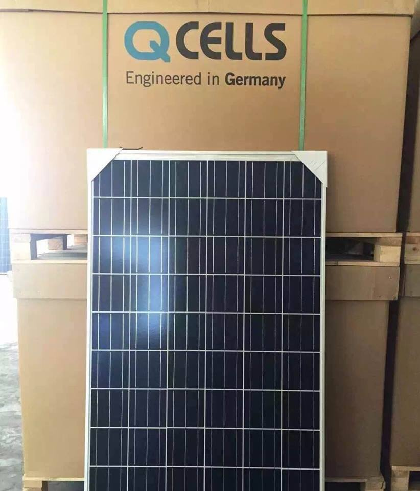 Q cell Hanwa 265 watt Solar Panel