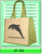 Jute Shopping Bags with logo or without logo