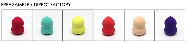 Private label expandable non latex cosmetic beauty blending sponge /Original beauty makeup blender OEM manufacturer