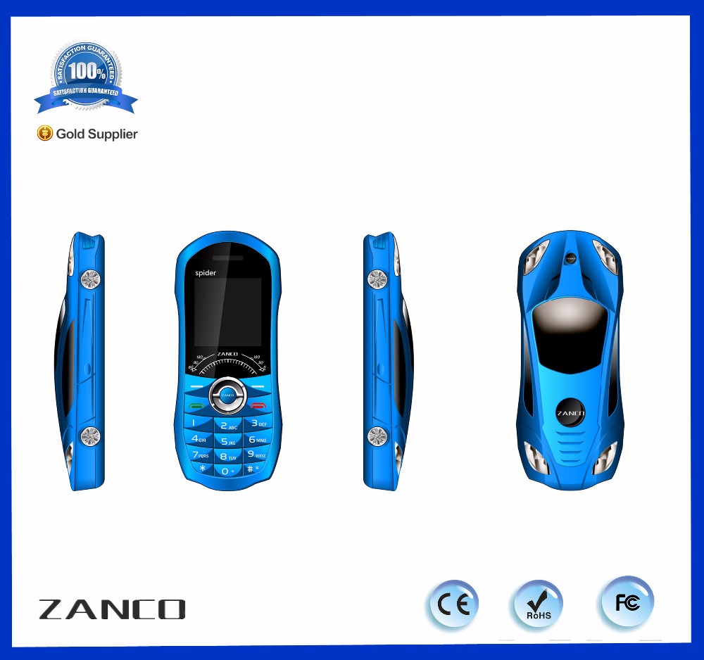 2018 hot selling car shaped mobile phone