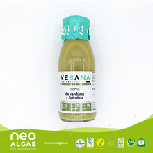 Vegetables soup cream with spirulina 250 ml & 500 ml
