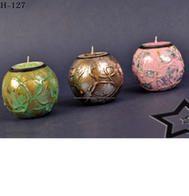 Designer color oil burner