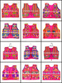 indian Traditional Gujarati Navratri Koti - Designer embroidery jacket-vests- Gujarati cotton handmade jacket
