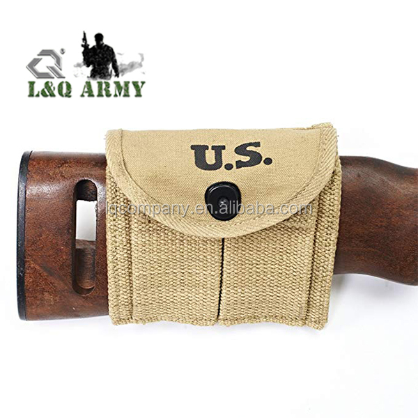 Military Army Canvas Mag Pouch