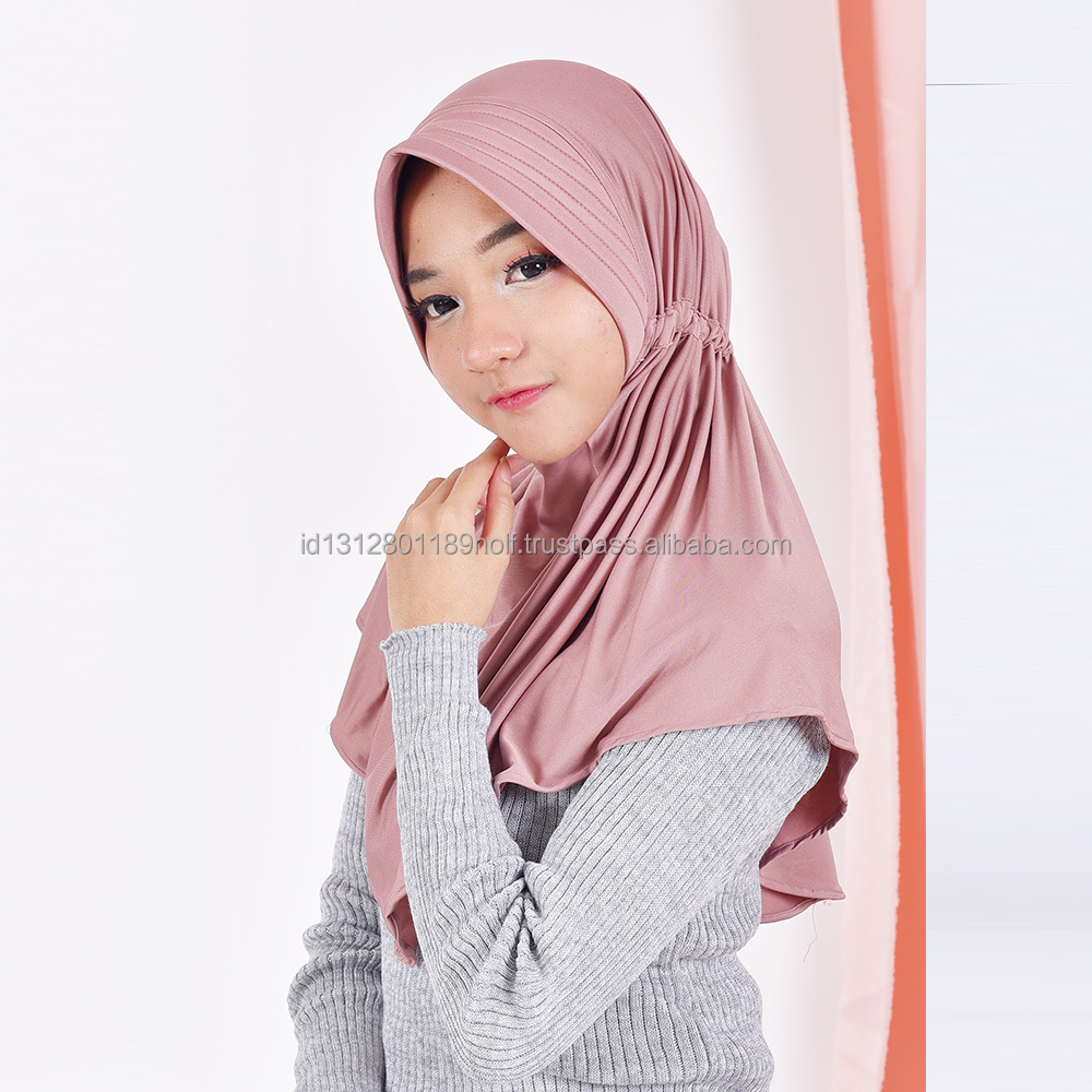 CARTEXBLANCHE - Hijab Serut - Muslim Apparel - Headscarf Veil - made to order - VARIOUS COLORS