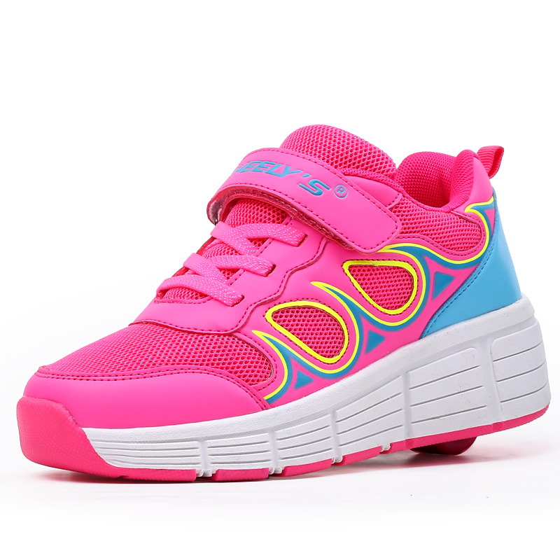 Good price air sport sneaker fashion shoes Roller Shoes Pink Blue