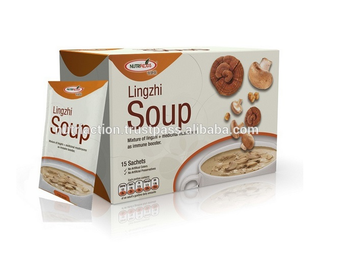 Lingzhi soup/Ganoderma Instant Soup as immune booster