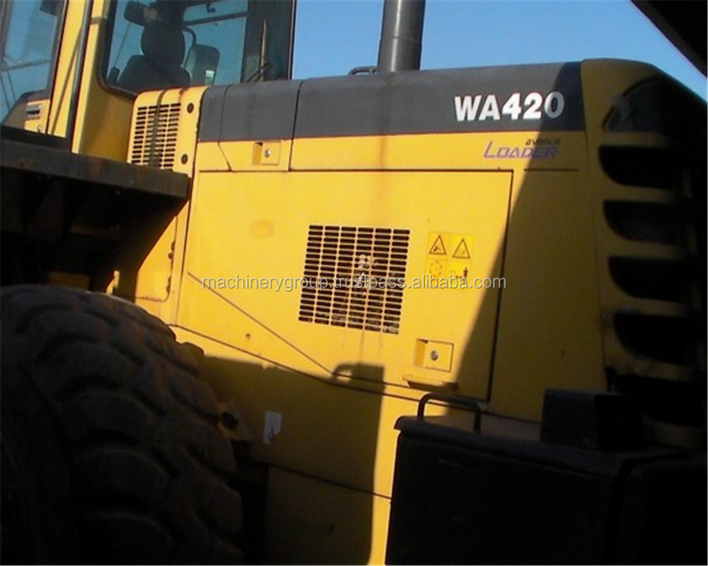 Original Komatsu WA420 Wheel loader for sale