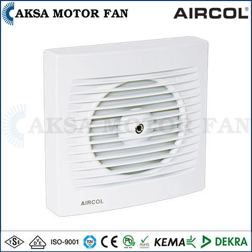 Aircol 100 MP / 120 MP / 150 MP - Exhaust Fan with Mechanical Shutter